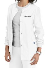 SCRUBS - SNAP FRONT WARM UP LAB COAT